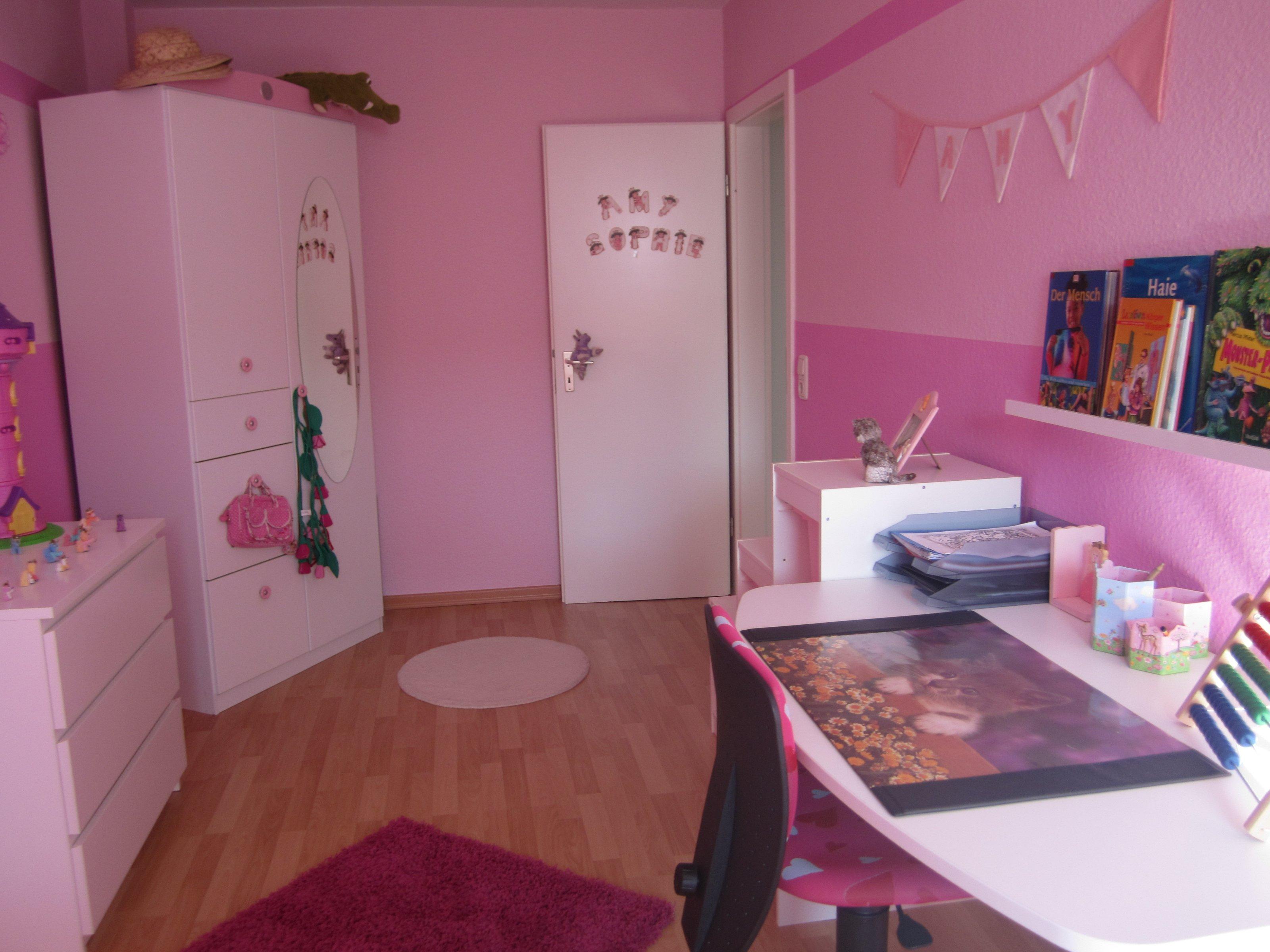 Kinderzimmer Mädchen Zimmer Unser Haus Zimmerschau