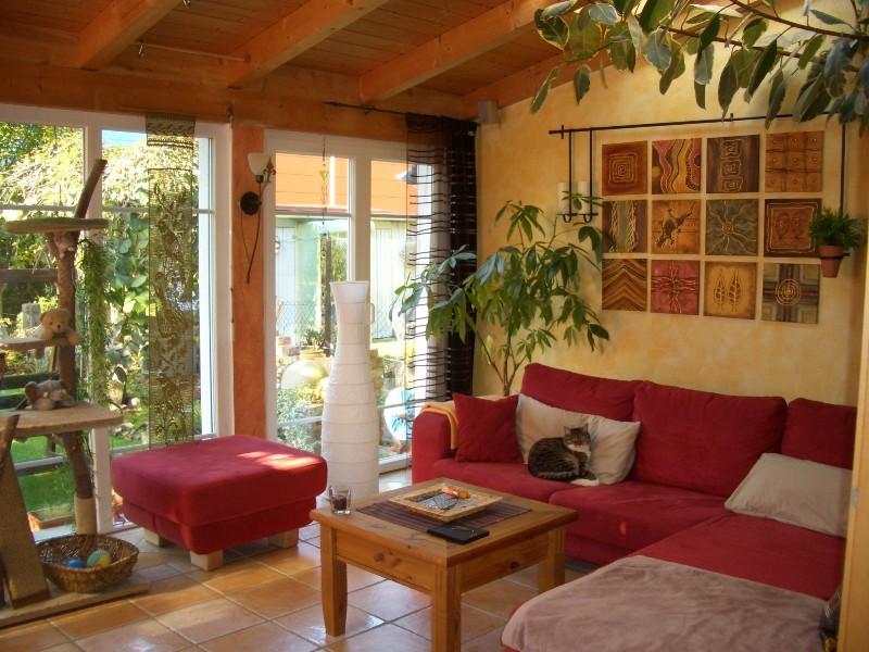 Wandgestaltung Wohnzimmer Mediterran. Wandgestaltung Wohnzimmer