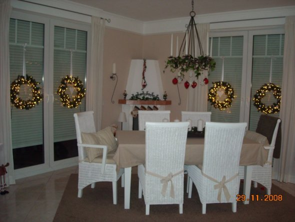 Weihnachtsdeko 39 weihnachten 2008 39 home sweet home - Weihnachtsdeko innen ...