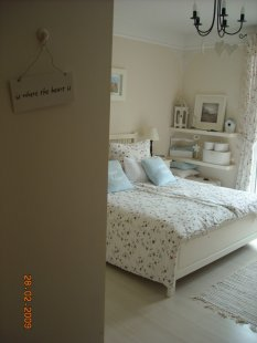 Shabby: Wohnideen & Einrichtung (neueste Beispiele) - Zimmerschau Schlafzimmer Deko Shabby