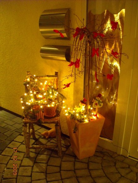weihnachtsdeko home sweet home von janice 16978 zimmerschau. Black Bedroom Furniture Sets. Home Design Ideas