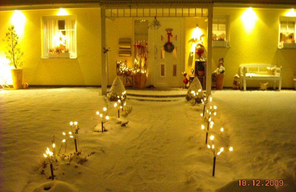 Weihnachtsdeko-Aussen von janice