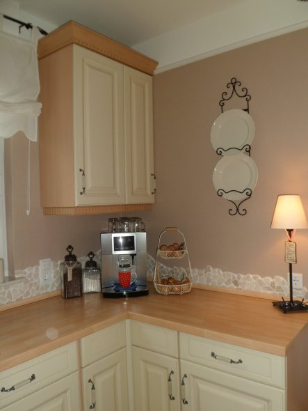 k che 39 unsere neue kochzone 39 home sweet home nach den umbau zimmerschau. Black Bedroom Furniture Sets. Home Design Ideas