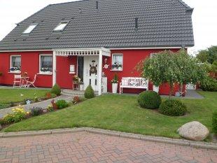 Unser Haus ...nun in Rot