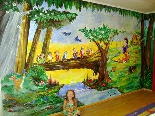 Kinderzimmer 'Jessicas grünes Spielparadies'