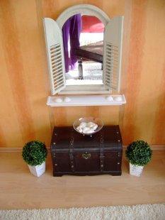 Exotisch 'Toskana-Flair und China-Stil im Wohnzimmer'