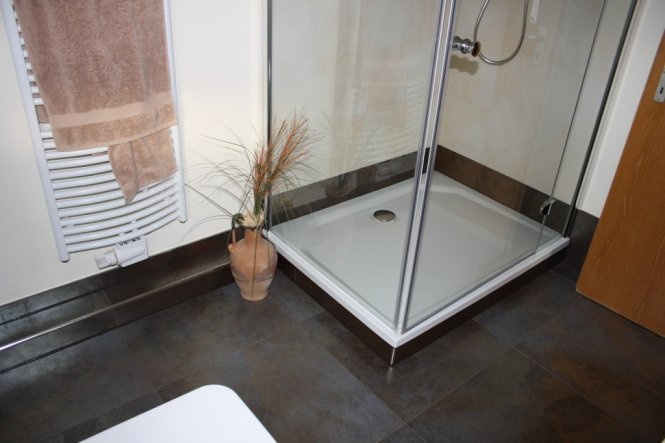 bad 39 neues badezimmer 39 unser kleines zu hause zimmerschau. Black Bedroom Furniture Sets. Home Design Ideas