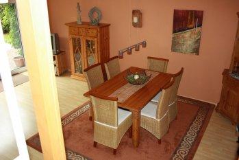Wohn- und Eßzimmer