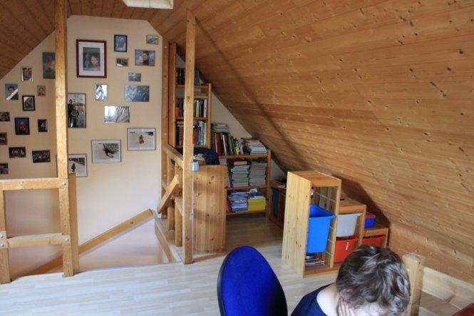 Arbeitszimmer / Büro 'neuer Dachboden'