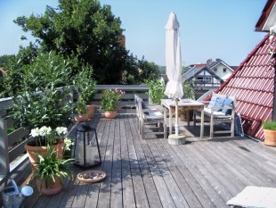 Dachterrasse 2004