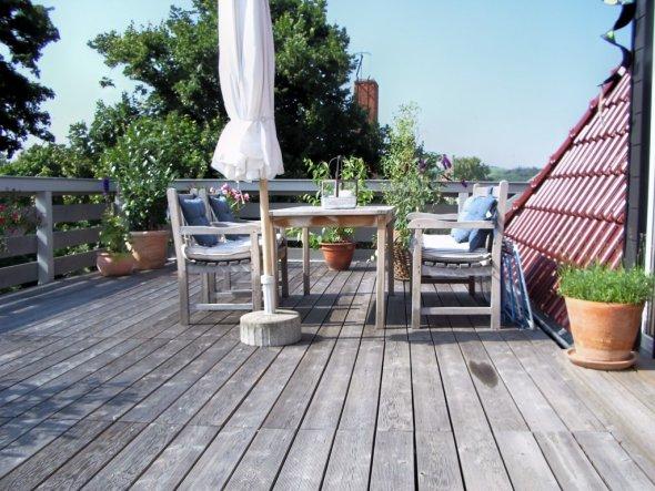 Terrasse / Balkon 'Dachterrasse 2004'