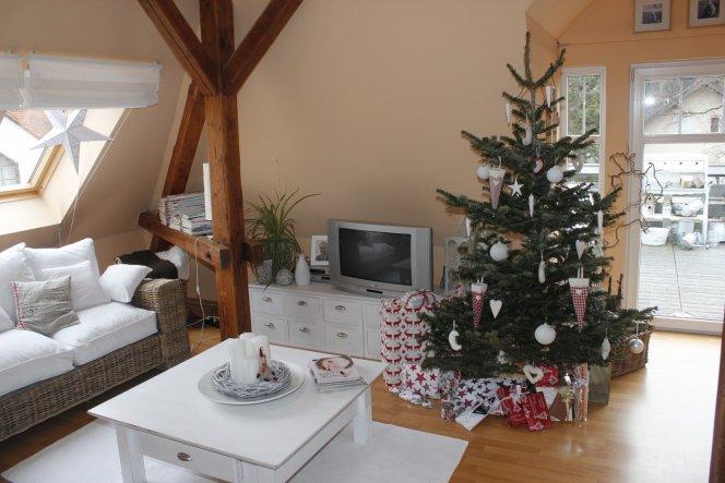Weihnachtsdeko 39 weihnachten 2011 39 wir vom dach - Weihnachtsdeko wohnung ...