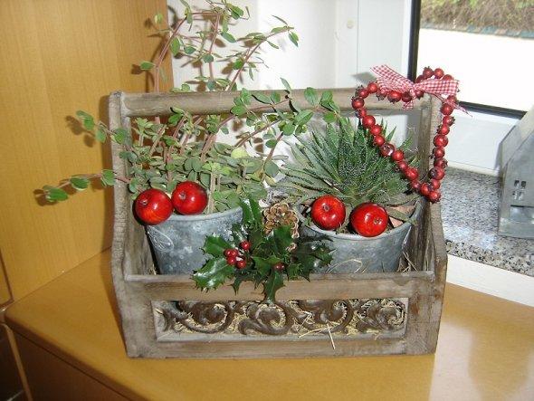 Weihnachtsdeko 'Weinachten 2009'