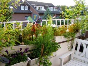 Hausfassade / Außenansichten 'Balkon'