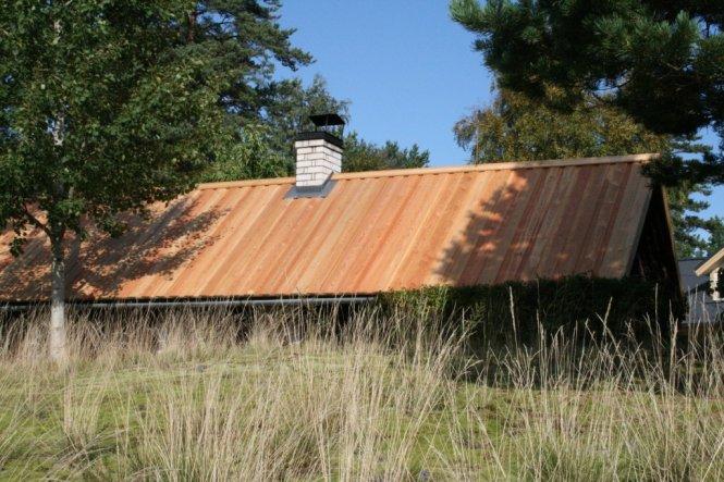 neues Dach für unsere Sauna!