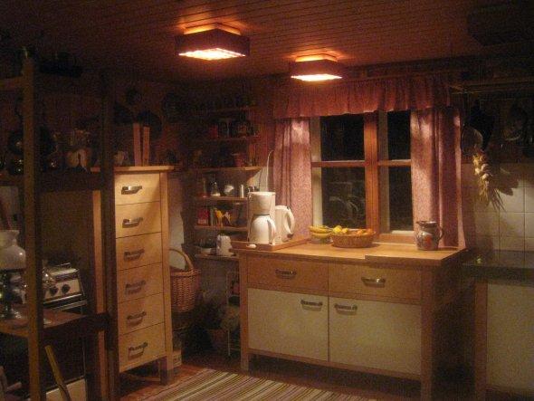 neue Vorhänge in der Küche