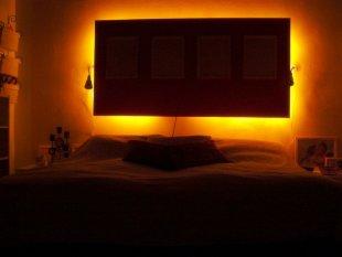 Schlafzimmer Leuchten Amazon: Traum Wand Deko Leuchtfische Glow In ... Bilder Von Licht Im Schlafzimmer