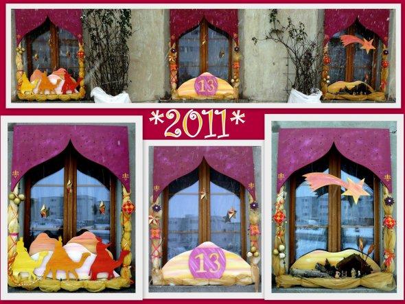 Weihnachtsdeko 'Weihnachtsfenster'
