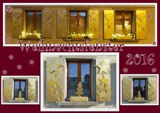 'Weihnachtsfenster' von cherry
