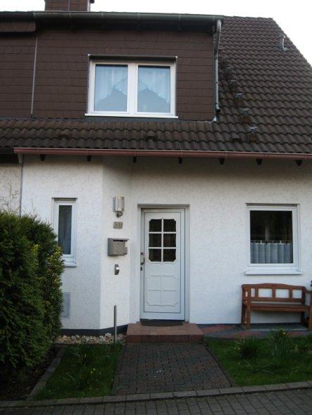 Hausfassade / Außenansichten 'Herzlich Willkommen!'