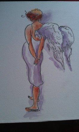 ...auch Engel müssen mal nachdenken..