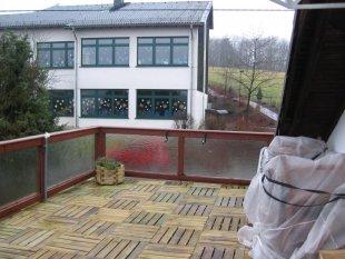 Terrasse / Balkon 'Hauseingang'