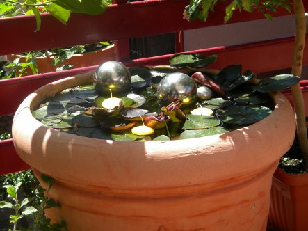 Garten 'Garten mit Quellstein'