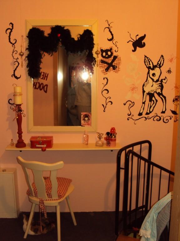 kinderzimmer 39 beautyfarm meiner tochter 39 basteln basteln. Black Bedroom Furniture Sets. Home Design Ideas