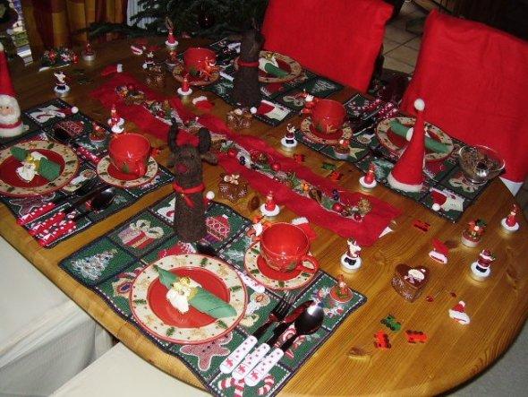 Weihnachtsdeko 'Eßzimmer'
