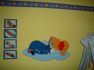 Wandmalerei kinderzimmer vorlagen