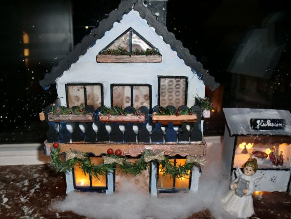 Weihnachtsdeko 'Weihnachtsstadt 2010'