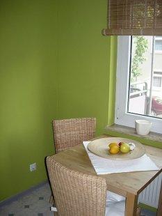 Küche in neuer Farbe