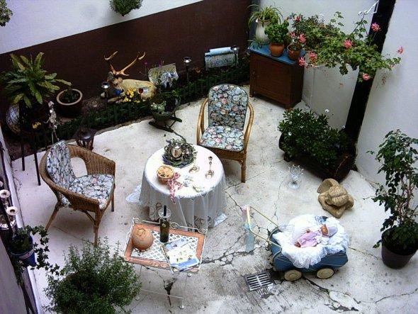 Garten 'Innenhof'