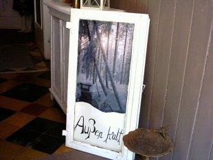 Tipp & Trick 'Alter Fensterflügel '