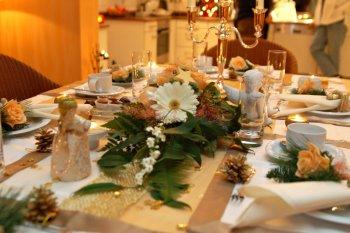 Tisch im Advent