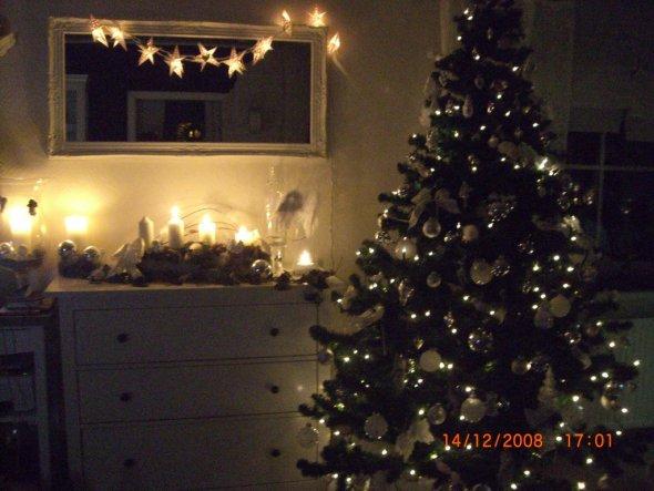 Weihnachtsdeko 'Weihnachten im Wohnzimmer' - Unser Haus - Zimmerschau