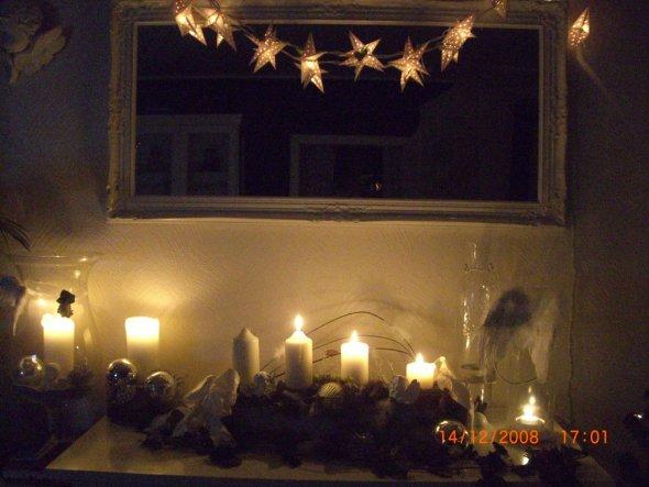 Weihnachtsdeko 39 weihnachten im wohnzimmer 39 unser haus - Weihnachten wohnzimmer ...