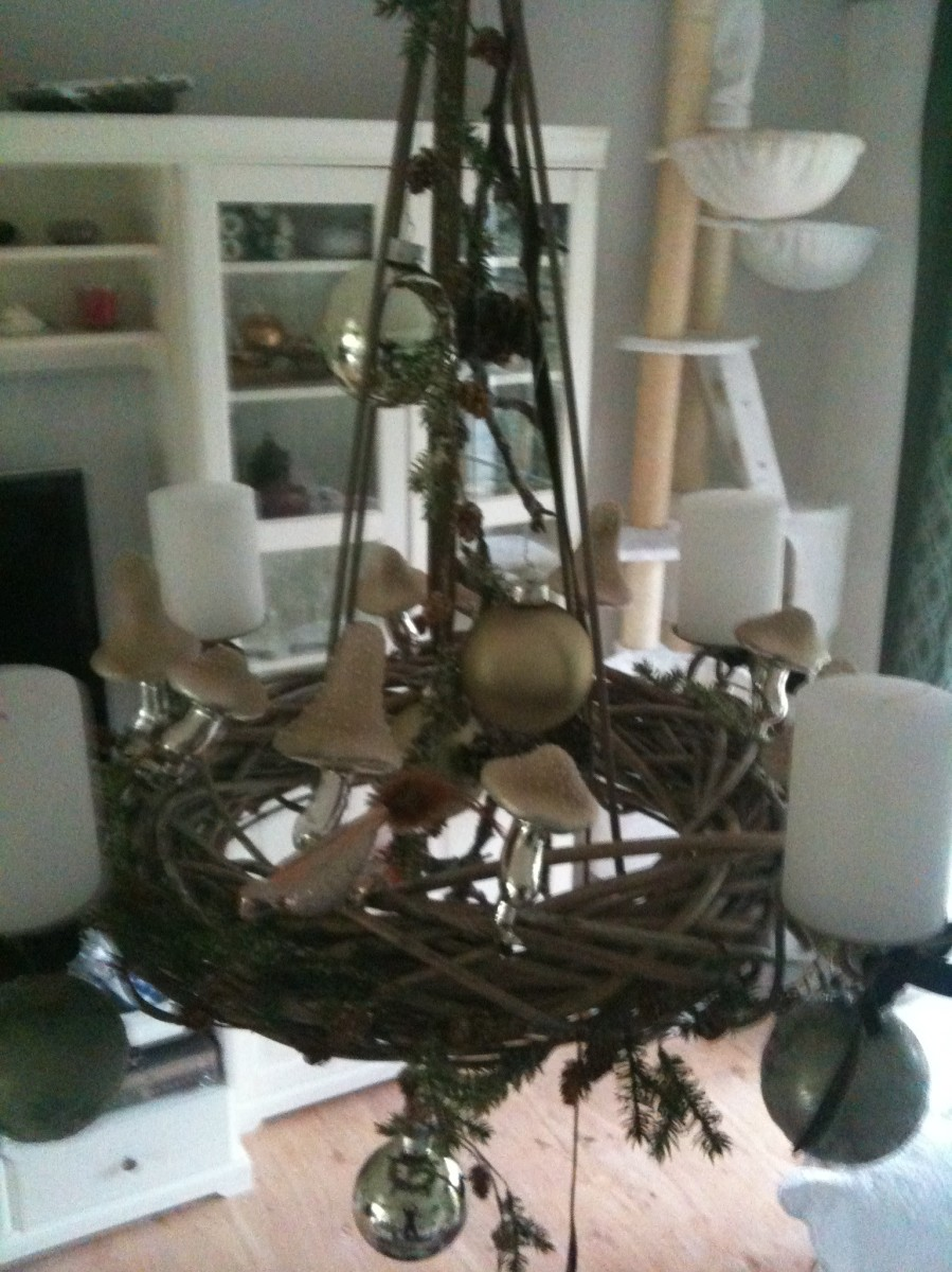 weihnachtsdeko 39 weihnachten 2011 39 unser haus zimmerschau. Black Bedroom Furniture Sets. Home Design Ideas