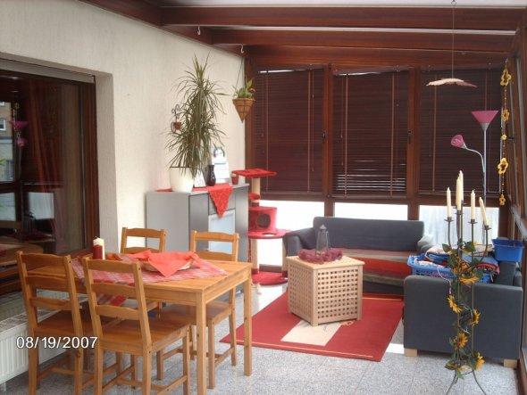 Wohnzimmer 'Wintergarten'