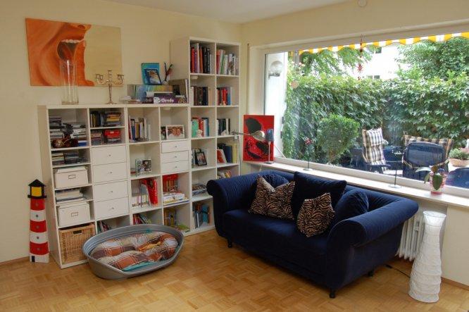 wohnzimmer 39 leseecke 39 wo das chaos regiert oskar zimmerschau. Black Bedroom Furniture Sets. Home Design Ideas