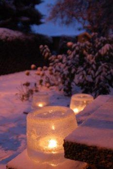 Tipp & Trick 'Windlicht aus Eis'