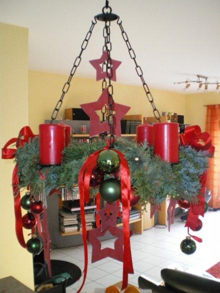weihnachtsdeko 39 wohnzimmer 39 b renh hle zimmerschau. Black Bedroom Furniture Sets. Home Design Ideas