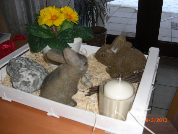 Osterdeko 'Ostern 2010'