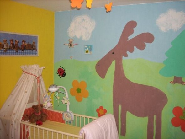 Kinderzimmer 'Mias reich'