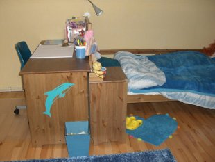 Kinderzimmer Delfin