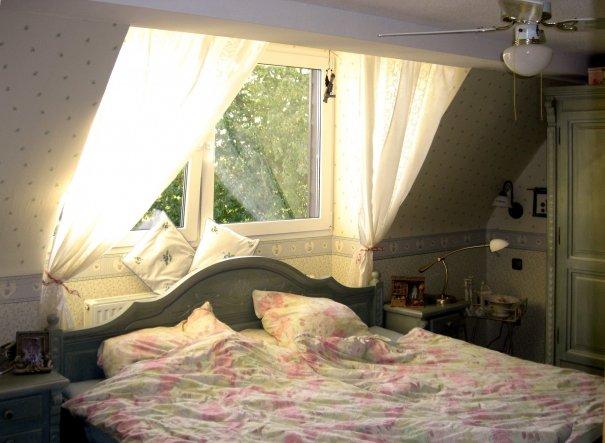 Das altmodische, romantische und irgendwie englische Schlafzimmer