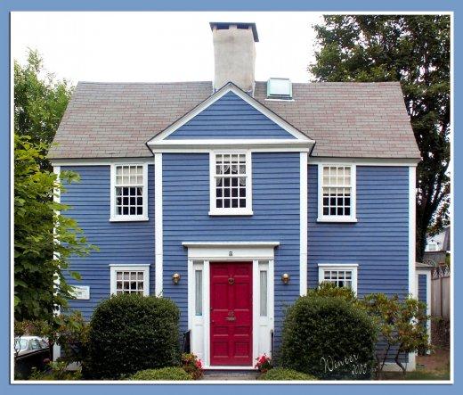 Urlaubsfoto, New England 2005