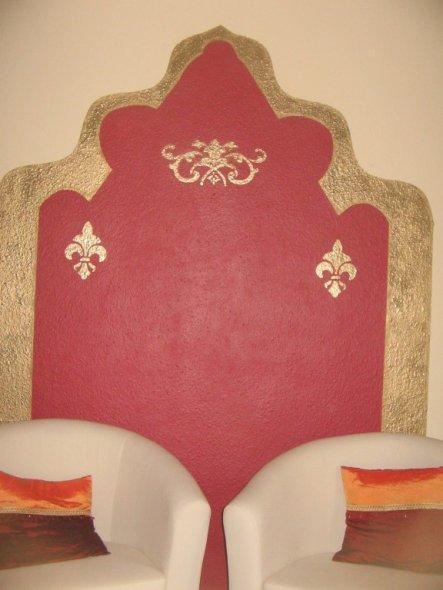 Wohnzimmer 'Wohnen in 1001 Nacht'
