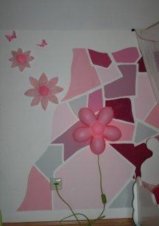 Kinderzimmer 'rosa Mosaik'
