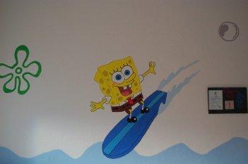 Sponge Bob Kinderzimmer